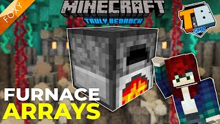 MEGA FURNACE ARRAY | Truly Bedrock Season 2 [21] | Minecraft Bedrock Edition 1.16 SMP