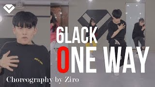 6LACK - One Way ft.T-Pain | Dance Choreography Ziro | Choreography Class by LJ DANCE