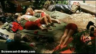 Exclusive, unseen & funny footage of the camp #1 - I'm A Celebrity...Get Me Out Of Here 2012