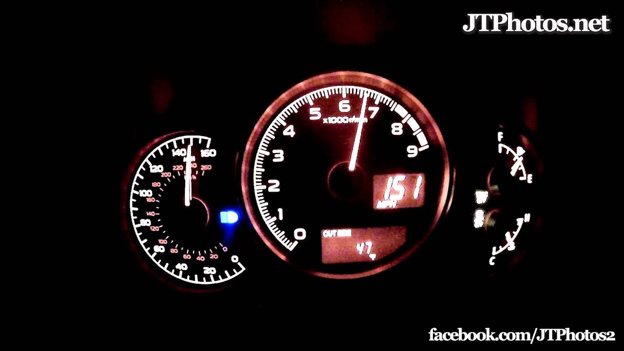 Subaru Brz Top Speed >> Subaru Brz Record Breaking Top Speed Run