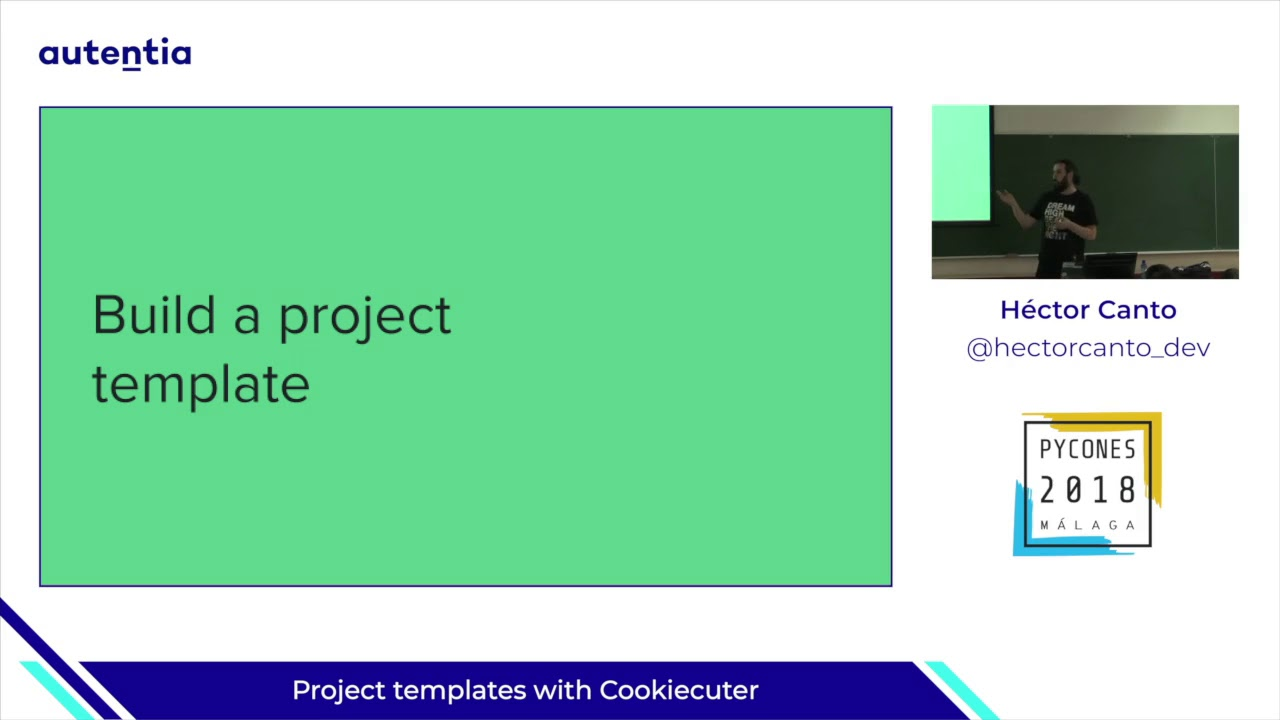 Image from Project templates with Cookiecuter