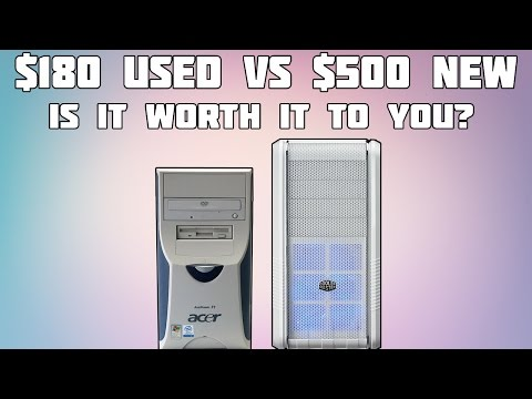 $180 Gaming PC Vs $500 Gaming PC