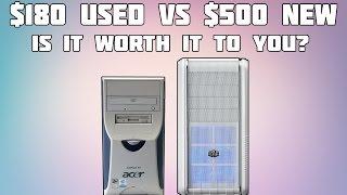 $180 Gaming PC Vs $500 Gaming PC