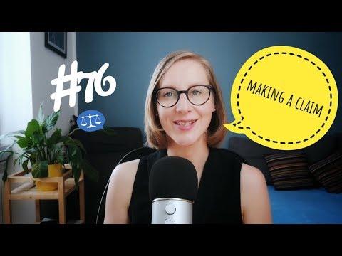 76: Making a Claim (Monologue)