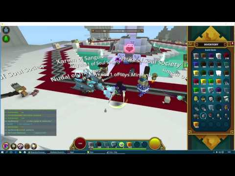 Trove - Pinata Party, Balefire Wings giveaway (scripting)