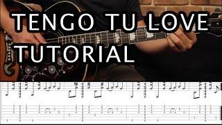 "Como tocar ""Tengo Tu Love"" de Sie7e - Tutorial Guitarra (Acordes) HD"
