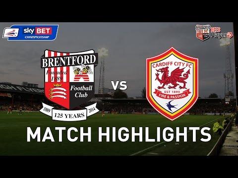 Brentford 1-2 Cardiff City