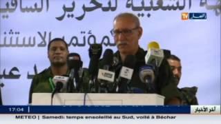 الجمهورية العربية الصحراوية: الإعلان الرسمي عن الرئيس الجديد إبراهيم غالي