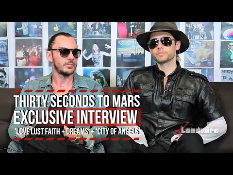Thirty Seconds To Mars Discuss  'LOVE LUST FAITH + DREAMS' + 'City Of Angels' [Loudwire]