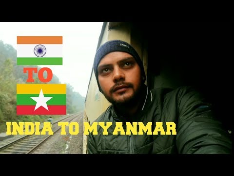India to Myanmar (BURMA) my first visit through moreh Land border Hitchhiking || Myanmar tourism ||