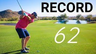 Pro Golfer Jon Rahm's Amazing Course Record 62 [Silverleaf]