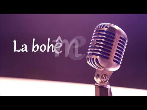La Bohème charles aznavour paroles - lyrics