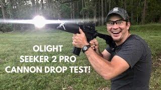 Cannon Torture Test! Olight Seeker 2 Pro 3,200 Lumen Flashlight