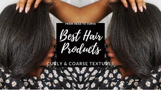 13 Great Hair Products for Curly & Coarse Textures
