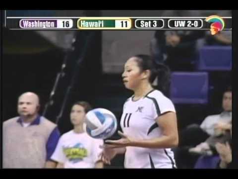 Rainbow Wahine Volleyball 2010 - #7 Hawai