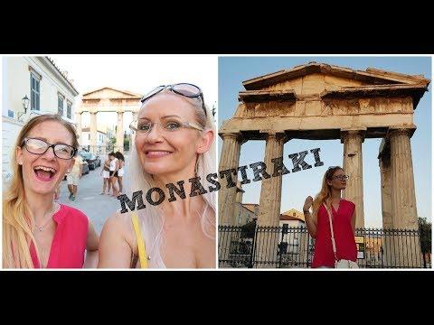 Monastiraki Square - Athens VLOG | Greece 2017 |