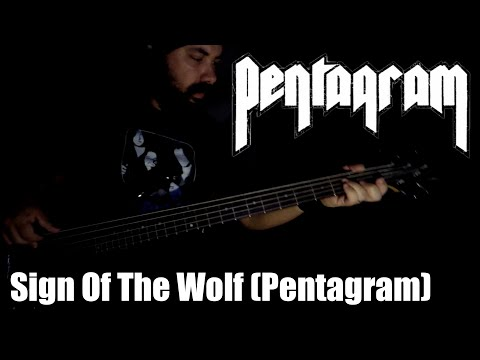 PENTAGRAM - SIGN OF THE WOLF (PENTAGRAM) BASS Cover