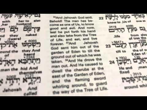 The Interlinear Bible Hebrew Greek English