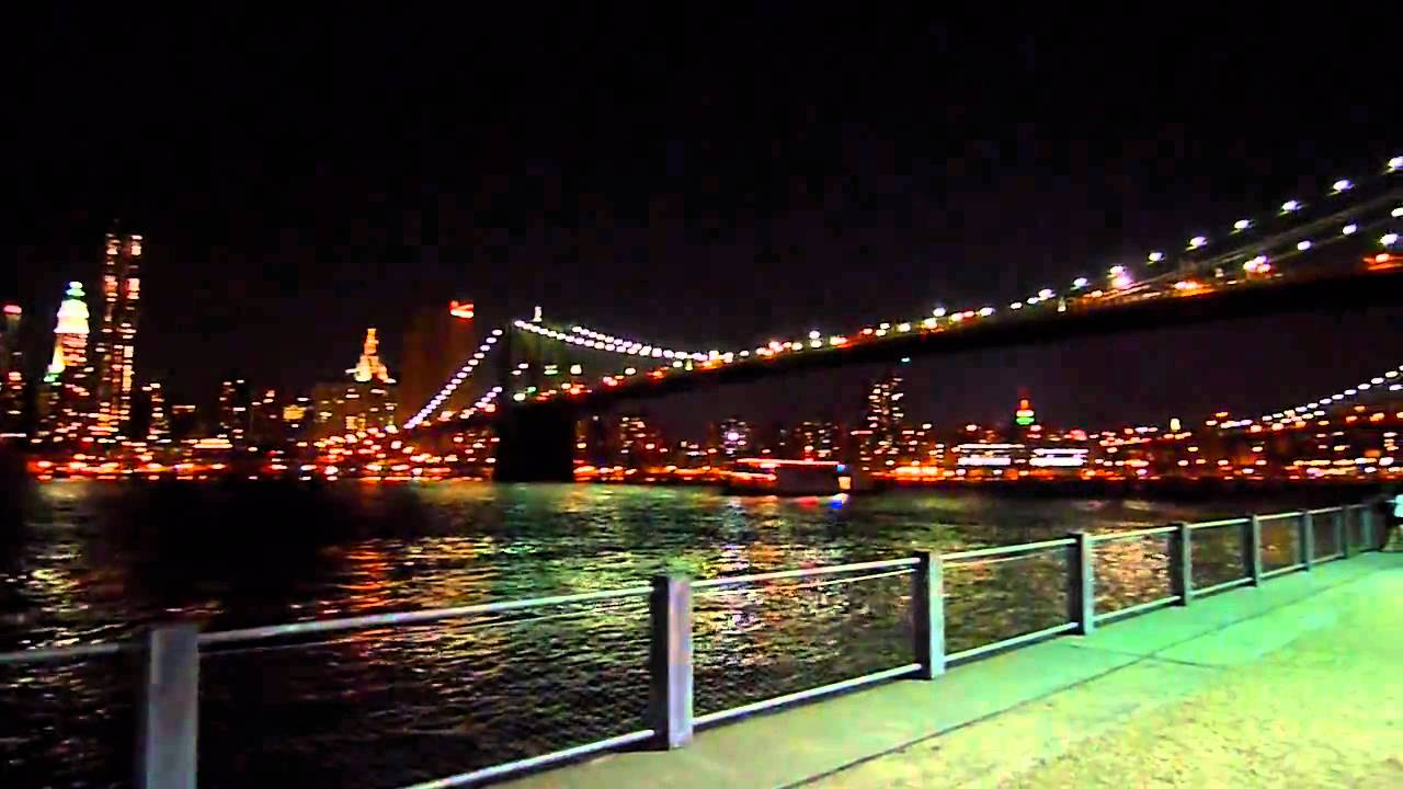 new york manhattan di notte youtube