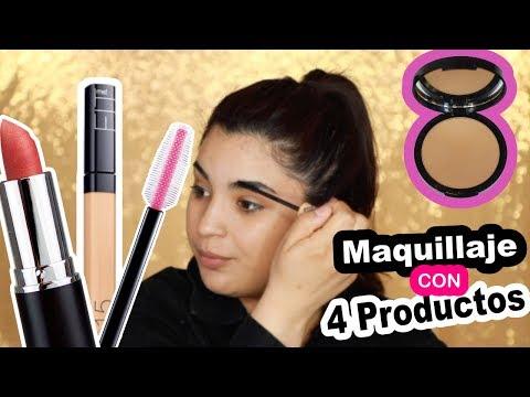 tutorial de Maquillaje facil y rapido PASO A PASO CON 4 productos - roccibella