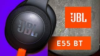 JBL E55 BT Bluetooth Headphones | Review