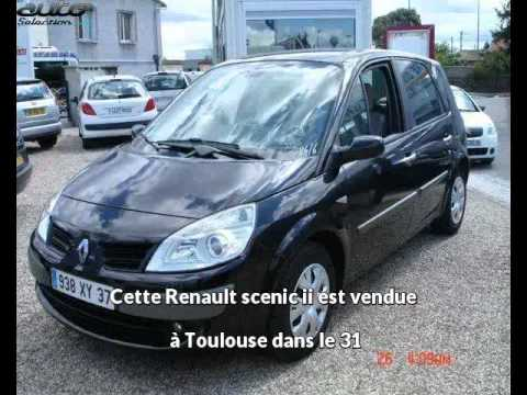 renault scenic ii occasion visible toulouse pr sent e par enidec auto youtube. Black Bedroom Furniture Sets. Home Design Ideas