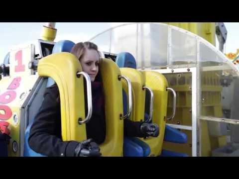 Nicola Gets Suspended On Brighton Pier Ride