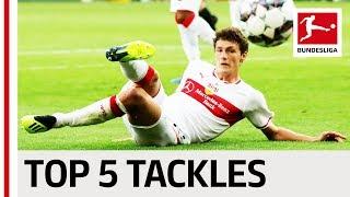 Benjamin Pavard - Top 5 Tackles