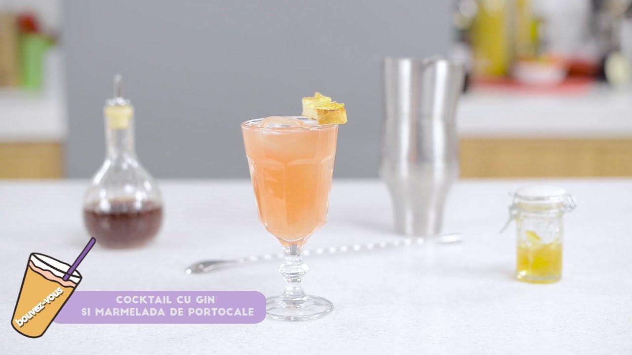 Reteta - Cocktail cu Gin si marmelada de portocale | Bucataras TV