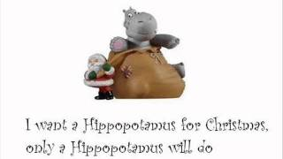 Shirley Temple - I want a Hippopotamus for Christmas with lyrics
