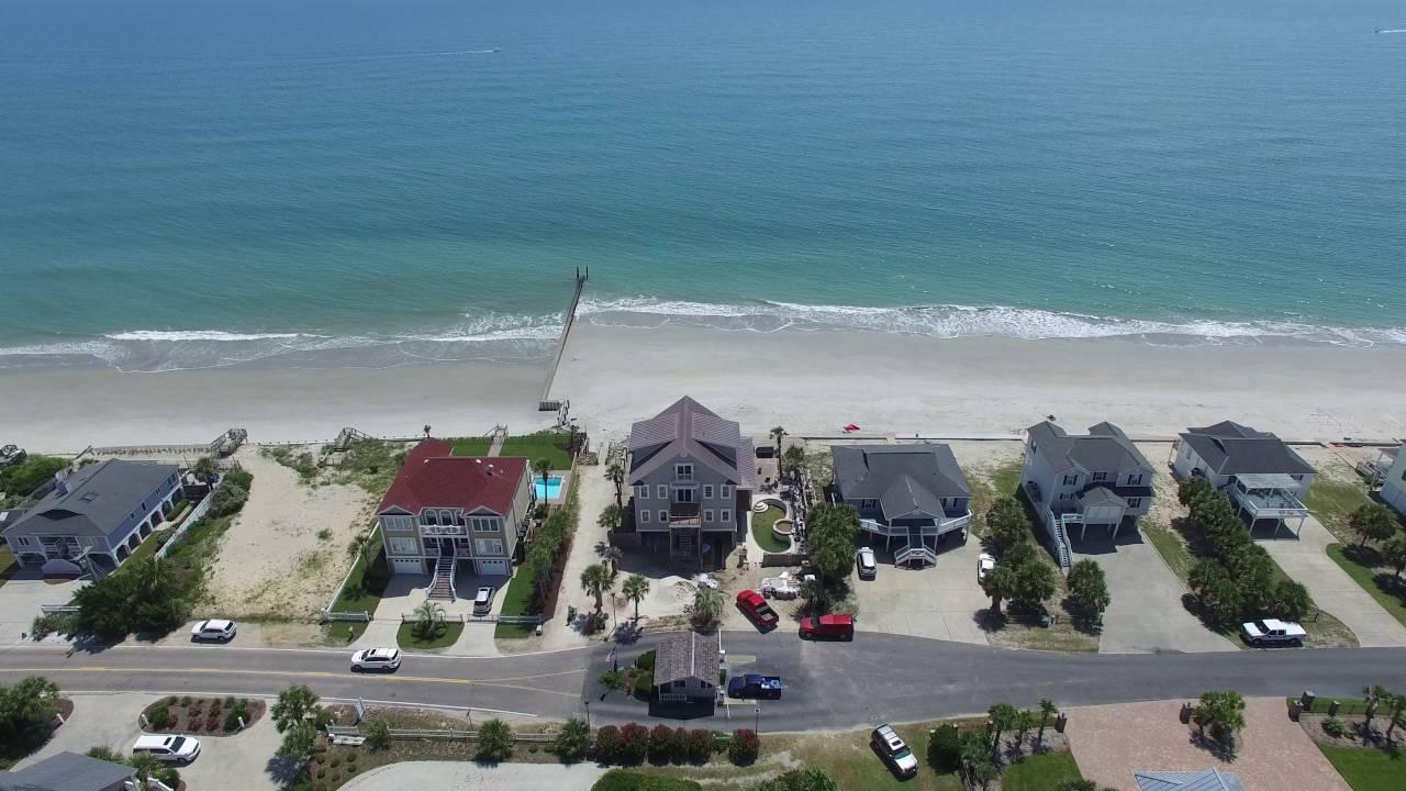 Murrells Inlet Beach Drone