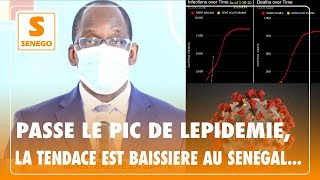 Covid-19 : Passé le pic de l'épidémie, la tendance est baissière au Sénégal…