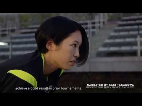 REACH BEYOND - Saki Takakuwa, Para Athletics 30 & 60 w/ Subtitles