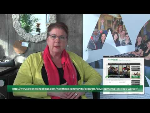Vicky Green - Algonquin College's Social Service Worker Programs