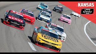 Full Race Replay: NASCAR Xfinity Series Kansas Lottery 300 Race from Kansas Speedway