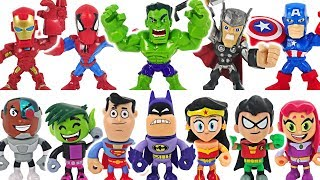 Teen Titans GO! To the Movies! Defeat Slade with Batman, Superman, Wonder Woman! #DuDuPopTOY