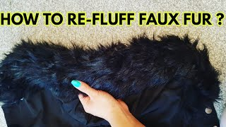 How to Fix Faux Fur Damaged by Washing