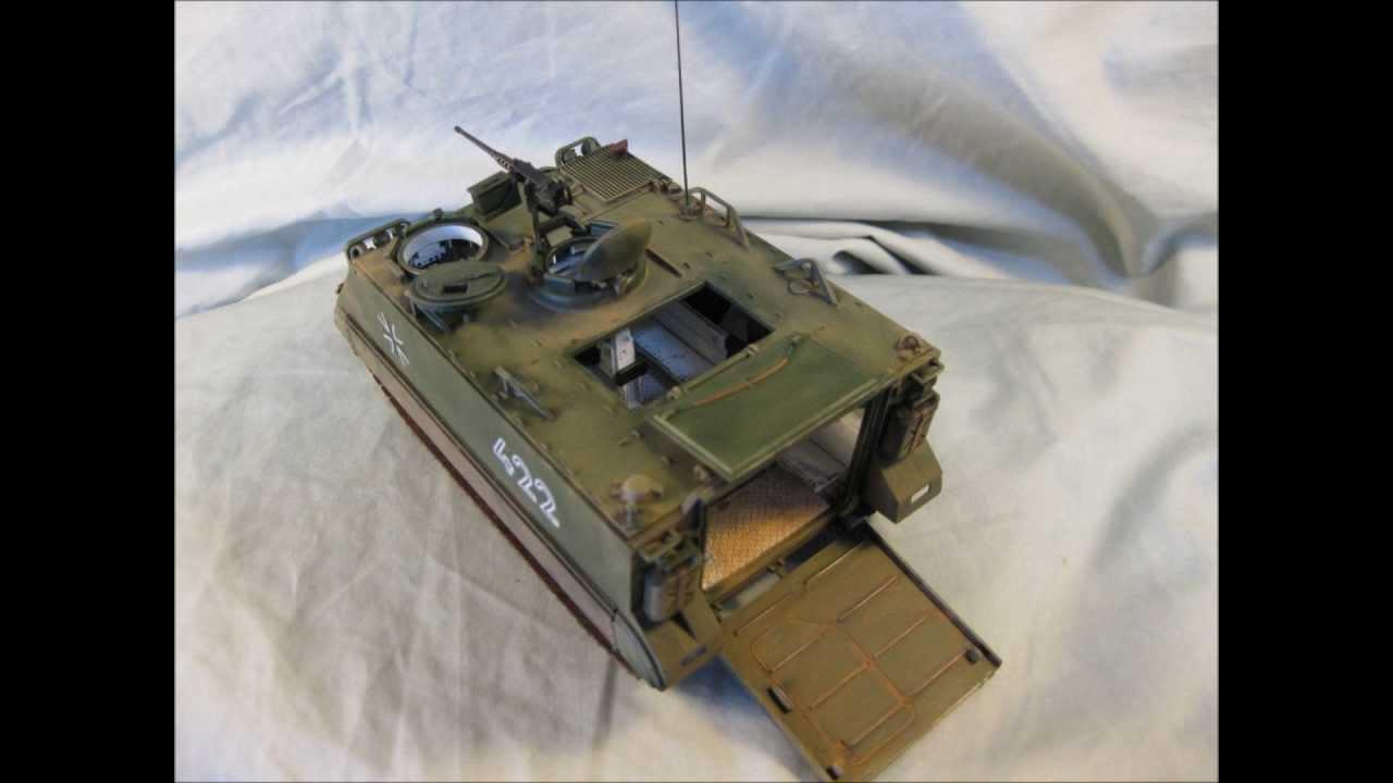 Tamiya M113 APC: Part Two - YouTube