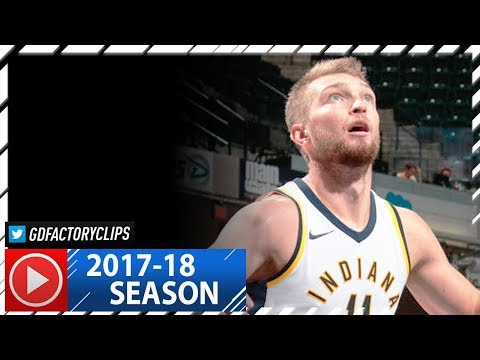 Domantas Sabonis Full Highlights vs Spurs (2017.10.29) - 22 Pts, 12 Reb