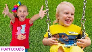 Brincando no Playground #2   Canção Infantil   Música para crianças por Sunny Kids Songs