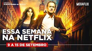 LANÇAMENTOS NETFLIX QUE ESTÃO CHEGANDO HOJE! - 9 a 15 setembro