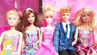 Гигантская коробка с куклами Барби  на русском Barbie. Видео для детей. For kids children