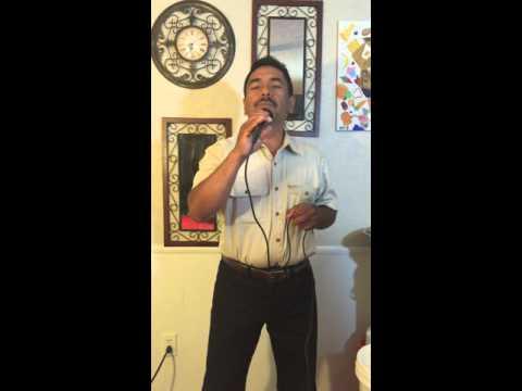 AMARGO DOLOR(chicana)Cantando con karaoke  by Pericoverde