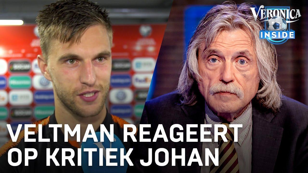 Veltman Reageert Op Johan 200 Duels Voor Ajax Zegt Wel