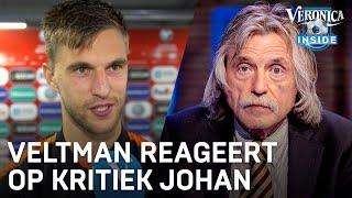 """Jöel Veltman is klaar met Johan Derksen: """"Ene keer ben je Europese top, dan weer niet"""""""