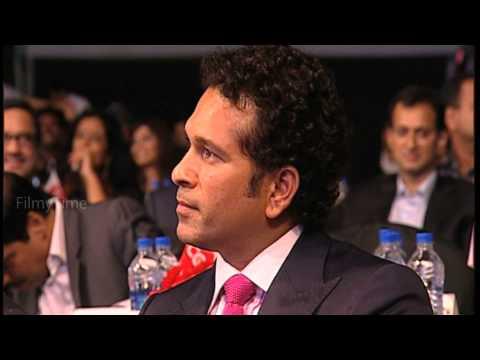 Sachin Tendulkar Anthem - Usha Uthup voicing Dhanush's lyrics - CCL Season 4 Launch
