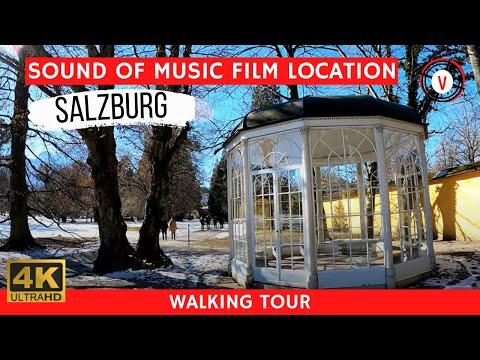 "Salzburg Austria Hellbrunn Palace - Film Set of ""The Sound of Music"" (4K Video)"