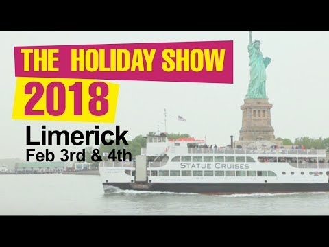 The Holiday Show 2018, Limerick, in association with Shannon Airport
