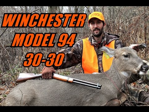 100+ Year Old Winchester Model 94 30-30 Deer Hunting - Rifle Season Pennsylvania 2016
