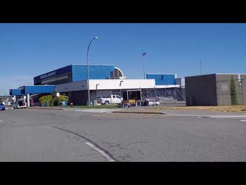 Nanaimo Airport YCD - Quick Drive Around - British Columbia (BC) Canada - Vancouver Island